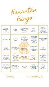 Coachery karantén bingó
